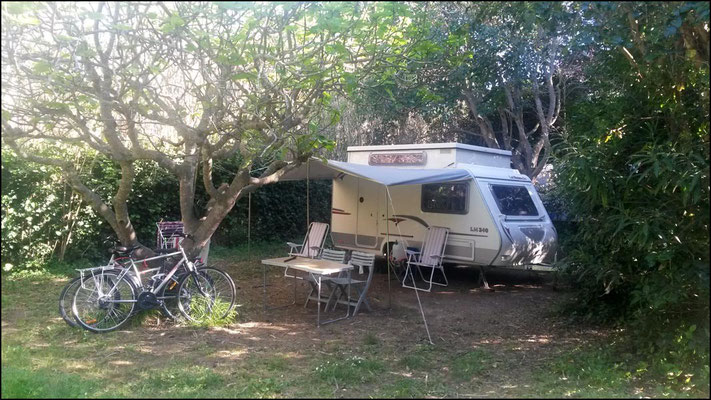Camping Six fours les plages : Emplacement Figuier