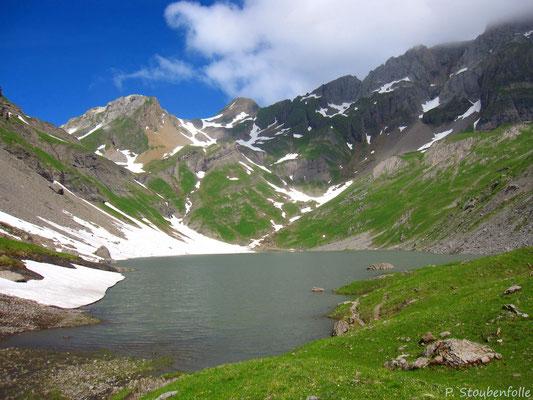 Le lac de la Vogealle