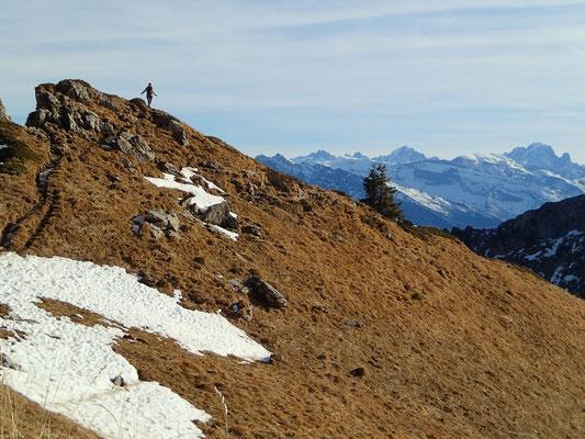 Belle perspective au Col de Chalune