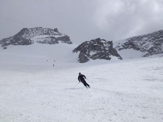 Au pied du Glacier de La Pendant