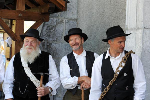 Michel Veisy, Wilfried Colonna et Christophe Ducroz