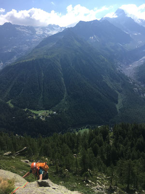 Ambiance Chéserys : escalade plaisir et vue panoramique