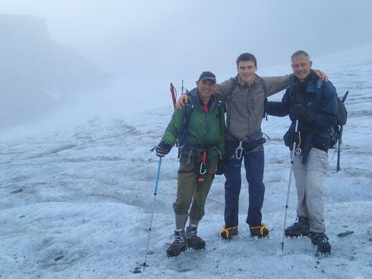 Premiers pas sur le Glacier du Ruan
