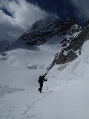Retour vers le Jungfraujoch