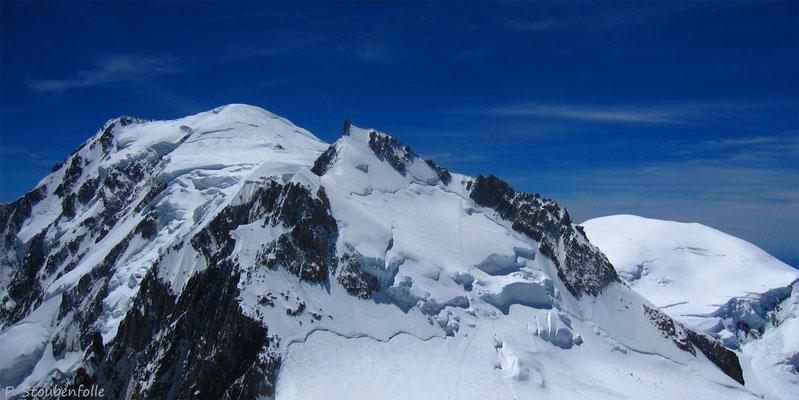 Mont Blanc, Maudit, Goûter.