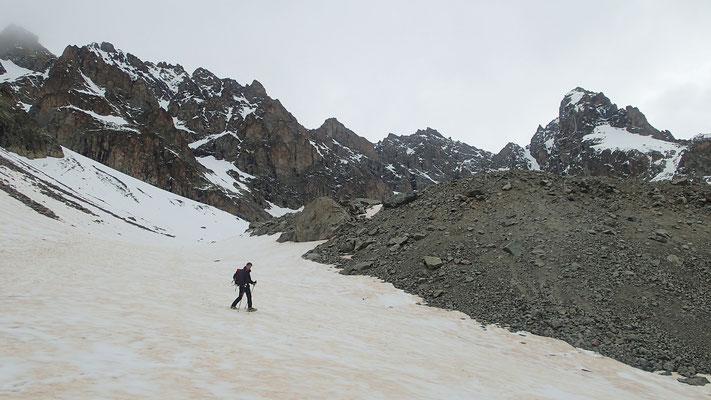 A la fin du Glacier Jean Gauthier