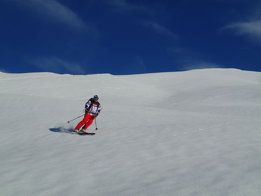 De l'espace et du grand ski!