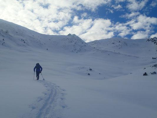 Remontée au Col de Chavan