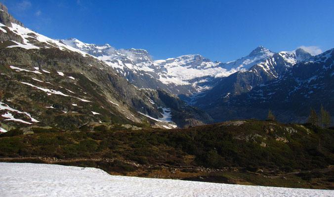 La classique Tenneverge-Ruan-Tour Sallière vue côté Emosson
