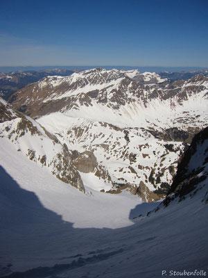 La Combe du Trou versant suisse cette fois-ci.
