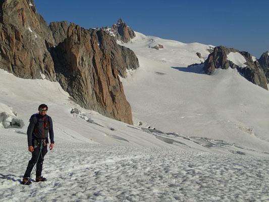 Bastian domine La Vallée Blanche