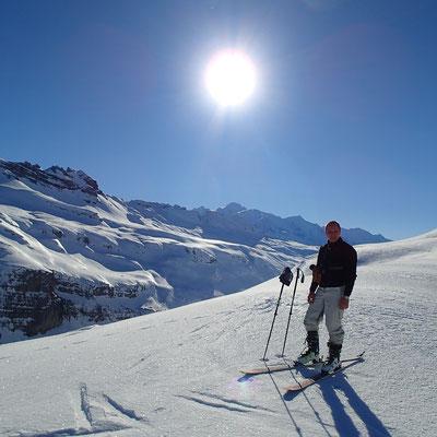 Sur la Crête des Foges, avec vue sur le Mont-Blanc