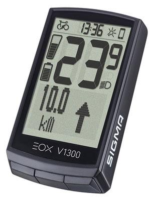 SIGMA präsentiert neues E-Bike Display EOX® VIEW 1300