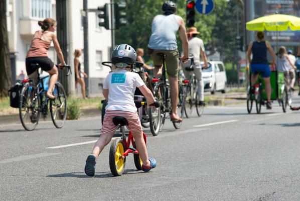 KIDICAL MASS, Platz da für die nächste Generation! / Foto: Stefan Flach