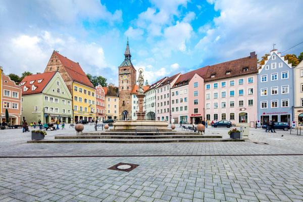 Marienbrunnen Landsberg by Robert Klinger - Stadt Landsberg