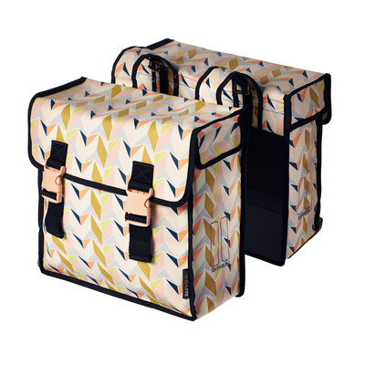 17625 Basil Triangle double bag multicolour