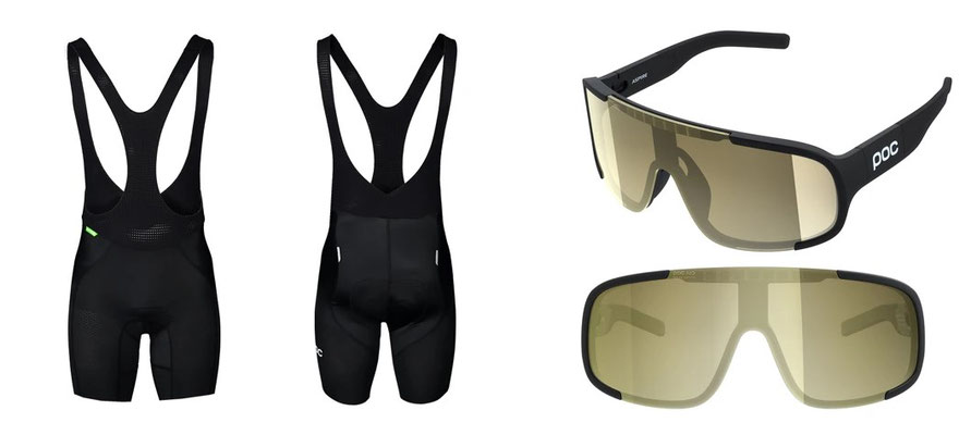 W's ULTIMATE VPDS BIB SHORTS  und ASPIRE SOLAR SWITCH