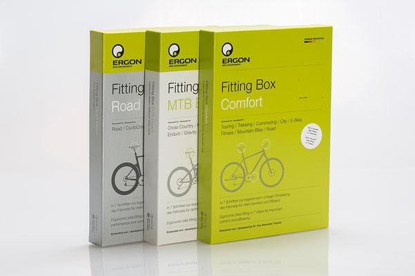 Mit der Fitting Box kann das Fahrrad auch ohne Vorkenntnisse einfach, schnell und präzise ergonomisch richtig eingestellt werden. ©Ergon