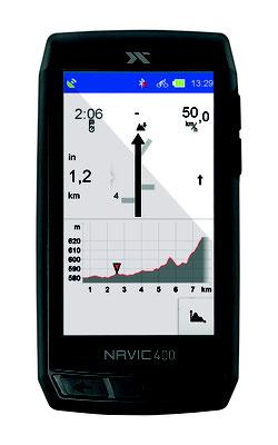 Navic 400 - Höhenmeter
