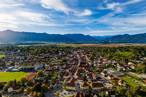Murnau Luftaufnahme by Thomas Rychly