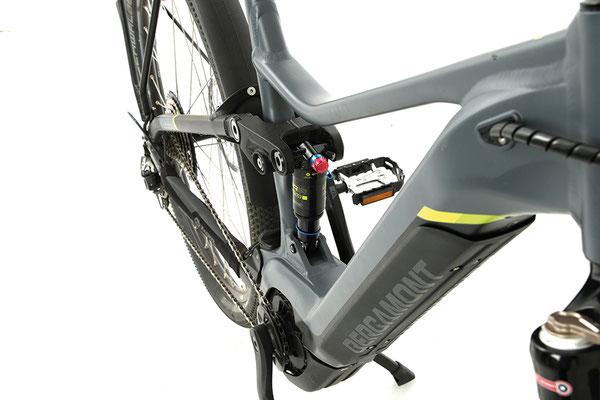 Der Rahmen basiert auf Bergamonts weiterentwickeltem Universal Chassis Concept. ©Velototal