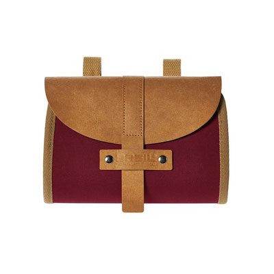 17635 Basil Portland saddlebag dark red