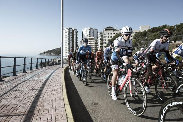 Das Polartec-Kometa Continental Team bei der Vuelta in Valencia / ©AlessandroBelluscio