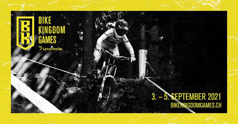 Keyvisual mit Nino Schurter /  Copyright: Verein Bike Weltcup Lenzerheide