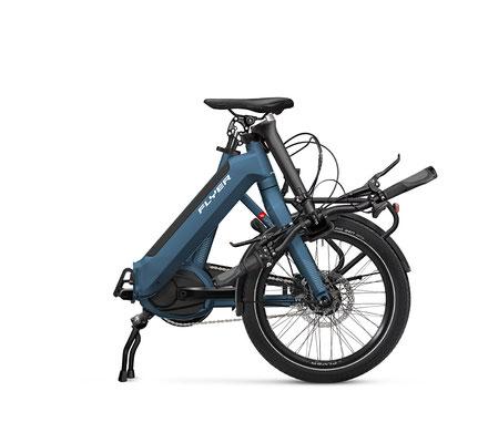 Upstreet 2 Faltrad mit 20 Zoll Laufrädern ©Flyer