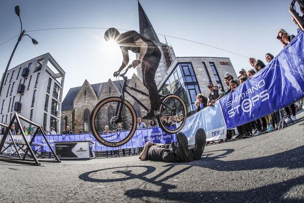 Österreicher Dominik Raab, einer der weltbesten Trial-Biker der Welt // Bildquelle: www.andifrank.de