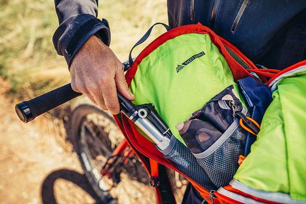 Stretch-Netztaschen für Fahrradzubehör ©GREGORY