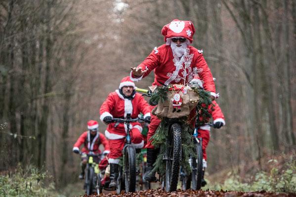 Bereits zum 7. Mal biken die Mitarbeiter der Winora Group durch das Schweinfurter Oberland. Quelle: Cherie Redecker / Winora-Staiger GmbH