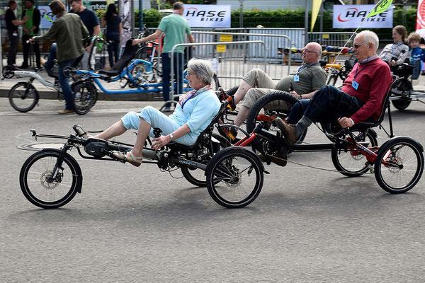 Die ©24. Internationale Spezialradmesse lockt Insider, Fans und Neugierige gleichermaßen ins Spezialrad-Mekka Germersheim.