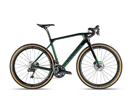 German Design Award Special Mention  das Gravel-Bike Grail CF, hier als Top-Modell Grail CF SLX 8.0 Di2. ©Canyon Bicycles