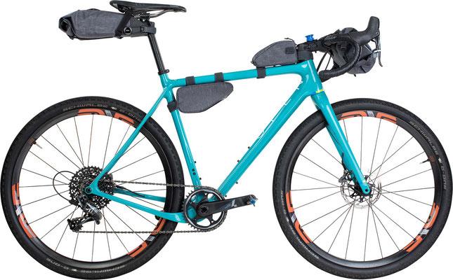 ©Evoc Bike Packing Gravelbike