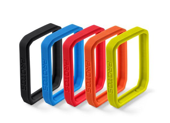 CICLO Protos Serie - 5-teiliges Set mit Silikonschutzringen