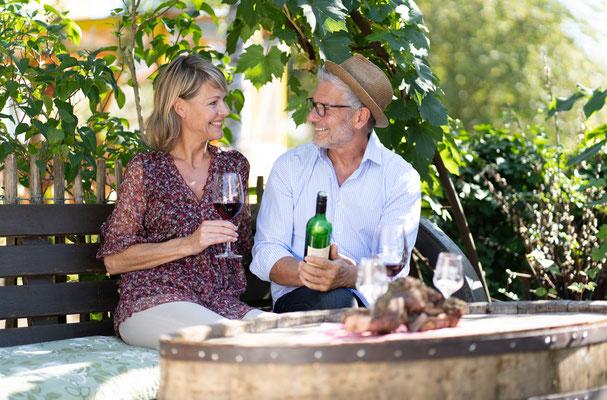 Ein Rad-Urlaub nach und durch Bad Mergentheim ist ein Urlaub für Weinkenner und Freunde der kulinarischen und kulturellen Vielfalt. Foto: Björn Hänssler
