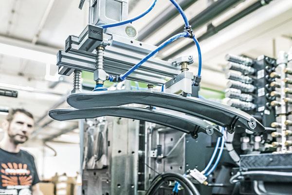 Radschutz-Produktion