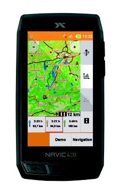Navic 400 - Route A nach B