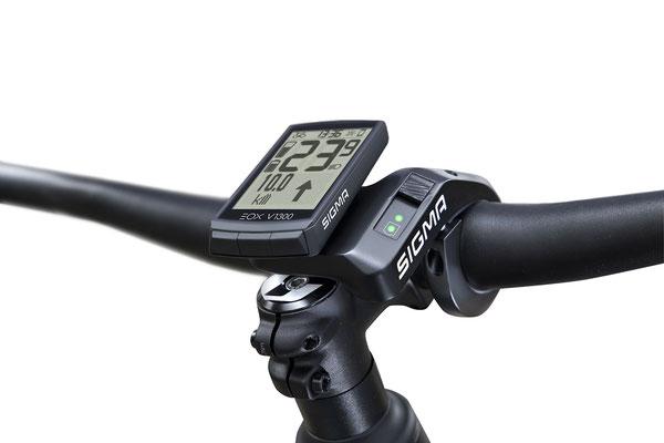 SIGMA präsentiert neues E-Bike Display EOX® VIEW 1300 mit innovativem Haltersystem RIBBON BUTLER