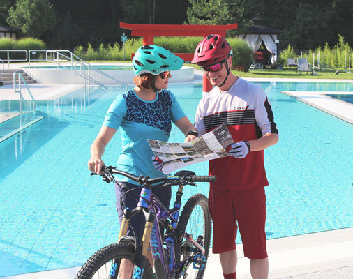 Therme & Hotel Linsberg Asia****S kooperieren mit Wexl Trails in St. Corona: Radeln & Relaxen