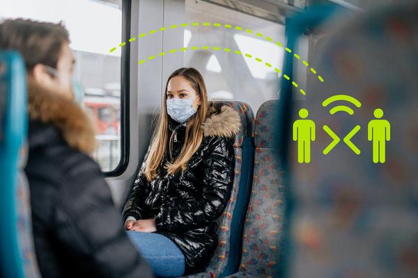 93 Prozent der 18- bis 29-Jährigen haben ihr Mobilitätverhalten deutlich eingeschränkt. ©Deutschland - Land der Ideen