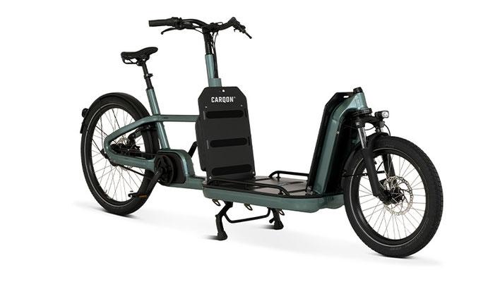 Carqon bringt das Flatbed auf den Markt, das Transportfahrrad der nächsten Generation