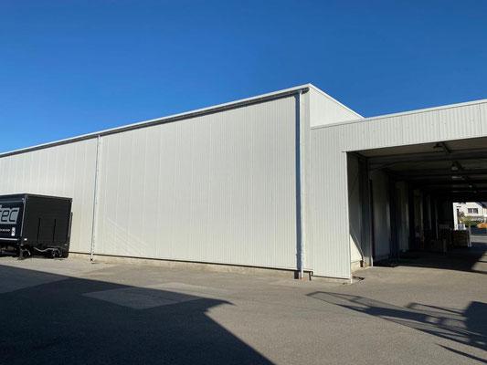 Das ergotec Logistik-Team konnte den langerwarteten Lagerneubau in Betrieb nehmen