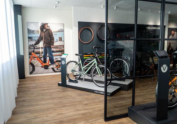 Neuer Showroom Velo de Ville