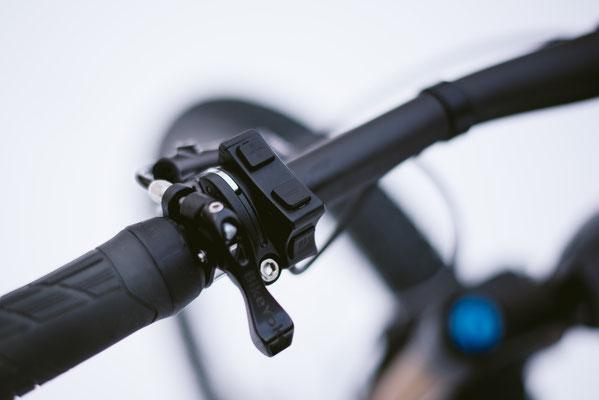 Über die ANT+-Schnittstelle lässt sich das Bike mit Garmin-Geräten