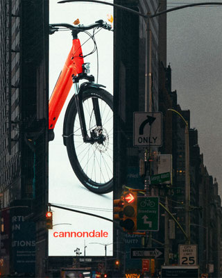 Adventure Neo NY 3 ©Cannondale  – Internationale Out-of-Home-Kampagne am Times Square