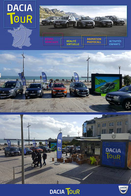 DACIA - Roadshow in 14 cities - WIZ'US