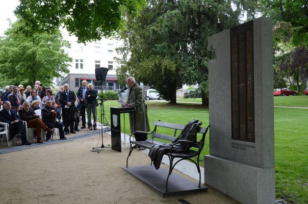 """Ansprache des Präsidenten der Bürgerstiftung """"Ein Herz für Bad Nauheim"""", Armin Häfner"""