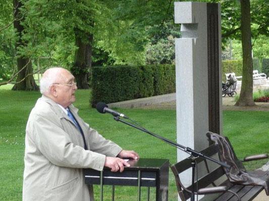 Begrüßung durch den Sprecher der Arbeitsgemeinschaft Geschichte, Hans-Günther Patzke